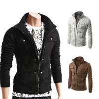 Spring and autumn fashion slim zipper cardigan jacket men's outdoor casual clothesNPH4{category}