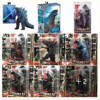Fliegende Schlucken Spielzeug NECA Godzilla Monster Handgemachte 7-Zoll-Gelenk-Movelable-Modell 210425