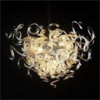 Chandeliers original desenhista decorativo mão soprada candelabro de vidro garantia colorido para el casa