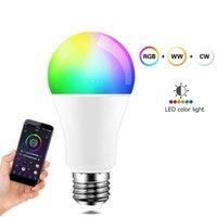 Birnen Smart Glühbirne RGB 9W mit Alexa Google Home E26 E27 Zubehör 1 stück LED Magic Lampe Dimmable WLAN