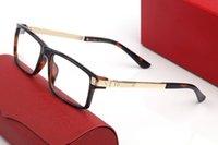 MILLIONAIRE Sunglasses For Women Summer style unisex Shiny Gold Anti-Ultraviolet Retro Plate Plank full frame fashion Eyeglasses with Box