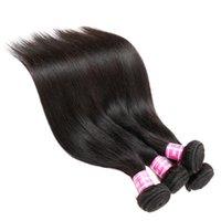 브라질 인도 캄보디아 몽골어 말레이시아 페루 버진 헤어 번들 스트레이트 인간의 머리카락 건강과 아름다움을 염색 할 수있는 HA RGWK