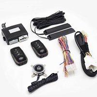 12V voiture universelle alarme multi-fonction de télécommande de télécommande sans clé Entrée sans clé Démarrer le système d'alarme Système de démarrage automatique
