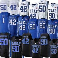 Men1 Kyrie Duke Jerseys Blue Devils Irving Ncaa Jersey Christian 32 Laettner 4 JJ Redick University College Bordado Basquete Via Mens