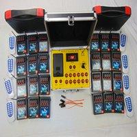 96 cues midja typ fjärrkontroll dmx mottagare bröllopsgåva vattentät låda gul-tråd effekt fyrverkerier avfyrningssystem elektrisk linje säkerhetsövervakning