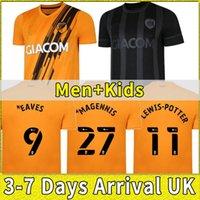 Yeni Hull Şehir Futbol Forması 21 22 Ev Uzakta Sarı Siyah 2021 2022 Futbol Gömlek Wilks 7 Honeyman 10 Bernard 24 Eates 9 Scott 15 Camiseta de Futbol Üçüncü Kırmızı Tayland Kiti