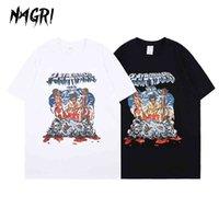 Nagri ASAP 테스트 Playboi Carti T 셔츠 그래픽 인쇄 T 셔츠 힙합 짧은 소매 여름 티 유럽과 미국
