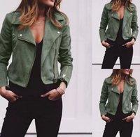 Autumn Ladies Fashion Basic Short Jackets Casual Women Tops Motorcycle Moto Short PU Leather Jacket Coat Slim