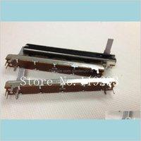 Потенциометры Пассивные компоненты Электронный офисный школьный бизнес Промышленный оптом- [Белла] SL-6021N 75 мм 7dot5cm Одиночный сил
