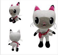 Gabby's Doll house Season plush toy cute cat soft Stuffed Christmas Gifts TV Show Fans Children's pops Toys