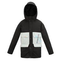 Veste de luxe de la marque Homme Kissqiqi Mens à capuche Vestes Hiver Coupe-vent Couvertures Chaudes Casual Fashion Vêtements d'extérieur
