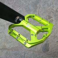 Bike Pedals Bergpedal MTB 3 Lager Anti-Slip-Fahrradstraße Aluminiumlegierung Teile Wide Enzo