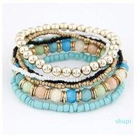 2015 New Fashion Ocean Style Multcolor Bracelet Sets   Bracelet Jewelry For women