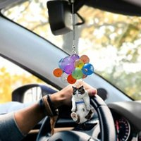Novelty Items Car Hanging Ornament Cat Pendant 3D Effect Birthday Gift Holiday Creative
