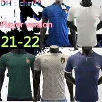 لاعب الإصدار 20 21 22 22 إيطاليا الثالث لكرة القدم الفانيلة 2020 2021 2022 المنتخب الوطني إيطاليا Bonucci Immobile Insigne Third Football Jersey Shirt
