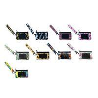 Neoprene Bolso Limpar Saco Zipper Armazenamento de Viagem Mini Pocket Pocket ID de identificação de cartão Sunflower RTS Cartão Titular pulseira pulseira