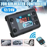 Car Video Universal Air Diesel Heater LCD Switch Parking Controller + 4 Button Remote Control