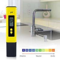 Meters Digital PH  TDS  EC Meter Water Tester 0.0-14.0 0-9990ppm TDS&EC LCD Purity PPM Aquarium Filter