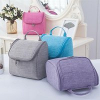 Storage Bags Fashion Women Lady Lager Cosmetic MakeUp Travel Toiletry Bag Wash Case Organizer Handbag