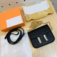 Сумки на ремне Высококачественные кожаные сумки Bestselling Wallet Женщины Crossbody Bag Conceps Makes Два плечами, чтобы соответствовать подарочной коробке Упаковка бесплатный корабль
