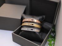 2021 HB_Jewelry Braccialetti Braccialetti per coppie e amanti Wedding 18K placcato oro Placcato oro Diamante Diamante Amore Braccialetto come regalo di compleanno