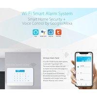 무선 GSM 홈 도난 방지 경보 보안 지능형 시스템 스마트 WiFi 3G4G Tuya 앱 제어 시스템