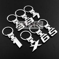 Keychains Fashion Design Car Accessory 3D Metal Zinc Alloy Key Chain Ring For E84 E83 E53 E71 F48 F25 F85 F86 F30 F31 F35 G20 G28
