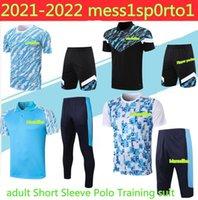 Olympique de Marseille Jersey Camisas de futebol 2021 manga curta Polo OM Pay Payet Thauvin Benedetto