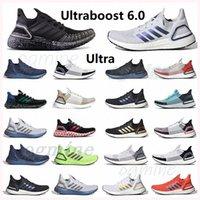 Ultra Boost Sneakers Ultraboost 6.0 Zapatillas de correr para hombre MUJERES ISMAS BAND DE MONEDA GOLDINO BLANCO BLANCO NEGRO NEGRO DE ORO DE ORO MUJERES TRIPANTADORES DE TENIS ABAJETE # XKAD #