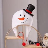 Parti şapkaları Cilt Dostu Noel Baba Fırçalanmış Uzun Halat Topper Yetişkin Çocuklar Ağacı Dekorasyon Şapka Hafif Noel HWD10627 için