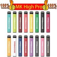 Maskking High Pro Einweg-Vape-Stift-Pod-Gerät Zigaretten-Kit Lokale MK-Einweg-E-Zigaretten 1000 Taucher Einweg-Vape VS-Puffleisten