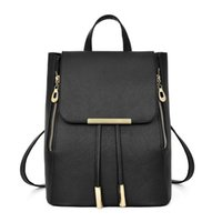 Autumn winter new 2020 simple backpack college wind large capacity Student Backpack Korean fashion women's bag