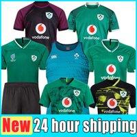 Top Thailand Neue 2019 2020 2021 2022 Irlands Rugby Jerseys T-shirts Home Away Rugbys League Jersey 20 21 Hemd S-5XL Weltcup-Hosen Weste Neue 22