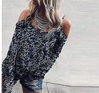 Leopard Print Loose Spaghetti Strap Fashion Tops Hollow Out Crew Neck Female Clothing Womens Tshirt Designer