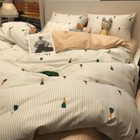 Bedding Sets Cute Carrot Set Single Double,cotton Twin Full Queen King Home Textile Bed Sheet Pillow Case Quilt Cover