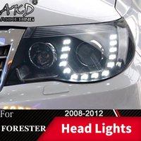 Lámpara de cabeza para automóviles forester 2008-2012 faros faros luces de niebla Día de funcionamiento DRL DRL H7 LED Bi Xenon Bombilla Accesorio Otro sistema de iluminación