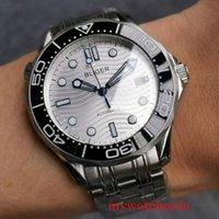 Bliger 41mm Automatic Hommes Regardez Miyota 8215 Mouvement Verre Saphire Date Date Date Date Date d'huître Bracelet Bracelet