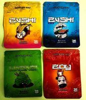 Сумка Zushi Mylar Bags 3.5g упаковочные сумки для упаковки дочерняя сумка для детей 2021 новейший Zushi Mylar ароматизатор цветок молния табак
