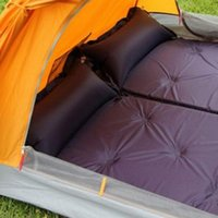 Outdoor Pads 185x57x2.5cm Camping Mat Moisture-proof Pad PVC Automatic Inflatable Splicing Cushion Tent Blanket