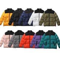 Дизайнер подлинный мужской куртку теплый пуховик Parkas мода стилист пальто ветровка мужчины женщин уличные куртки высококачественные фирменный стиль пары хлопчатобумажные пальто