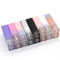 Storage Bottles & Jars Cute Lip Gloss Tubes Various Color For Cosmetic In Bulk 10 20 30 40 50 Pieces Square Shape DIY Liquid Container