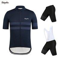 Ralvpha 자전거 프로 팀 남자 레이싱 슈트 탑 트라이 애슬론 MTB 착용 유니폼 퀵 드라이 사이클링 저지 SSTS ROPA CICLISMO 세트