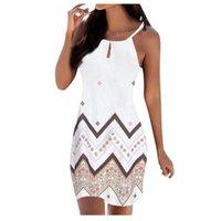 Casual Dresses Women's Dress Summer T Shirt Loose Sleeveless Tunic For Women Tunics Sundresses Streetwear