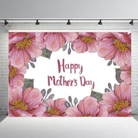 Happy Mother' s Day Backdrops Pography Flowers Decoratio...