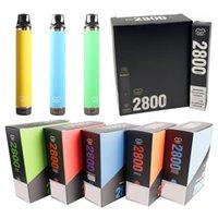 本格的なパフフレックス使い捨て可能なEタバコ2800 PUFFS VAPEペン10ml予め充填されたポッドカートリッジ1500mAhバッテリー気化器バーとXXL Bang Maxの流れ