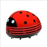 المحمولة مكنسة كهربائية مصغرة لطيف الخنفساء stachberry الكرتون سطح المكتب لوحة المفاتيح فراغ مكتب الغبار نظافة Y0412