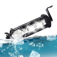 Bar-Kit-Auto-Arbeitslicht DC12V Nebel-Spot-Lampe Motorrad + Klammern 3 LED 4 Zoll ATV-Notlicht