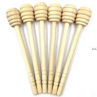 NEW500PCS / Lot Nouveau Arriver Mini 15cm Long Long Honey Honey Dippers Faveurs Mariage Honey Dipper Cuillère Cadeau CCA7568