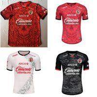 2021 Mexico Club Tijuana Soccer Jerseys 20/21 Rivero G.bou Corona Lucero Malcorra Kalinski مخصص Xolos de home قميص كرة القدم