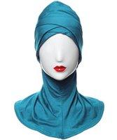Scarves Real Quality Jersey Beanie Turban Hat Scarf Cancer Chemo Cap Hijab Headwear Head